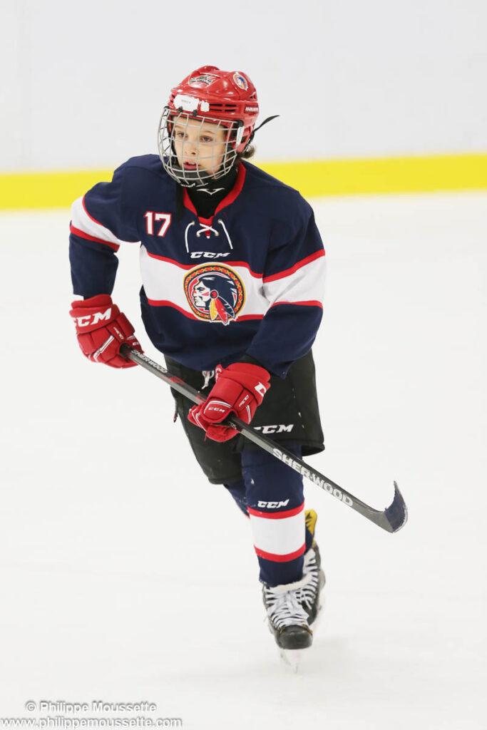 Joueur de hockey numéro 17