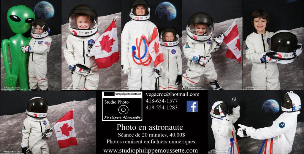 Promotion pour le thème astronaute